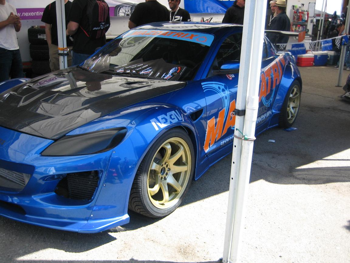Pictures On the Track & RX8 Wings and Fiberglass