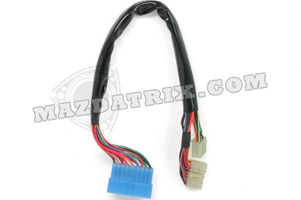 headlight switch harness 89-92 w/o airbag  mazda logo