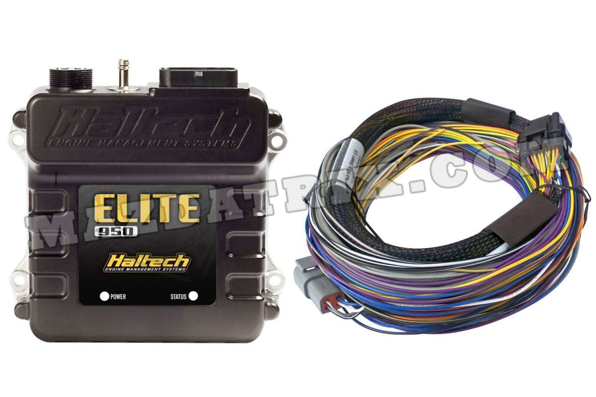 Haltech Elite 950 With Basic Wire